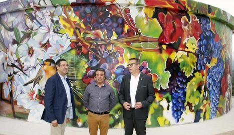 Un nou dipòsit d'aigua i una obra d'art per a Tarrés