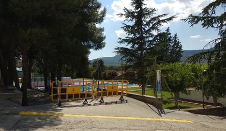 Les piscines de la Granja van tancar al juny per la mort d'un nen.