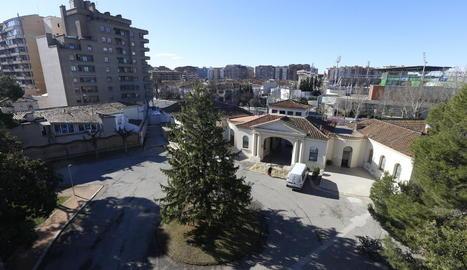 L'hospital Santa Maria de Lleida acull un dels Centres d'Atenció de Drogodependències.