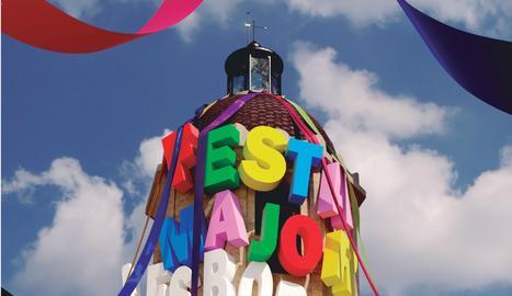 El cartell de la Festa Major de les Borges Blanques 2019.