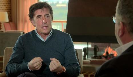 El ciclista Perico Delgado, a TV3