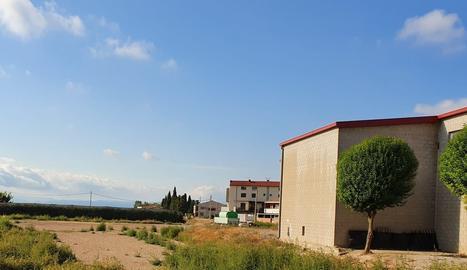 La zona de Vila-sana on es construiran les dos pistes.