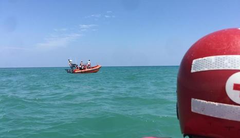 Imatge del dispositiu de rescat.