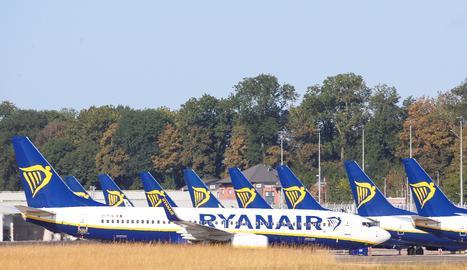 Avions de Ryanair.