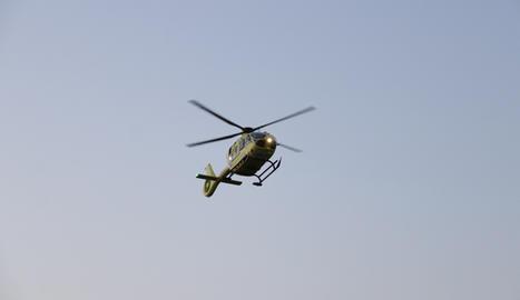 Un helicòpter del SEM.