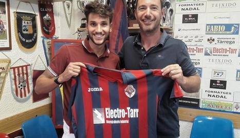 Cristian Alarcón, nou fitxatge de la UE Tàrrega.