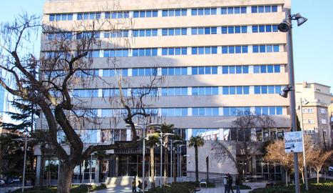 Seu de l'Agència Tributària a la capital del Segrià.
