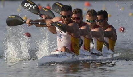 El K4 de Craviotto aconsegueix la medalla de plata i la classificació olímpica