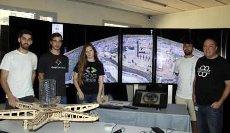 L'Associació Lleida Drone impulsa un projecte per enviar artefactes a l'espai