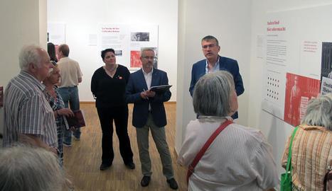 Rufach, en la inauguració de la mostra a Varsòvia.