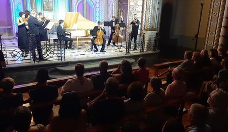 Un dels concerts del FeMAP que han tingut lloc a la Seu d'Urgell aquest estiu.