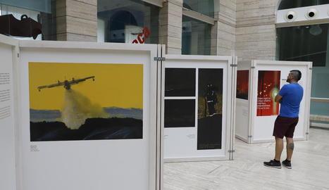 'Memòries incandescents', de Josep Serra, a la Biblioteca Pública fins al 28 de setembre.