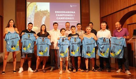 La Seu ret homenatge a 15 esportistes pels èxits d'aquest curs