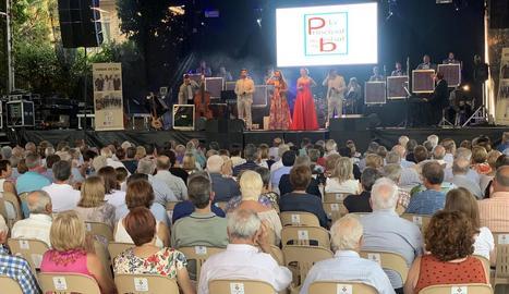 Recital de l'orquestra La Principal de la Bisbal a Juneda.