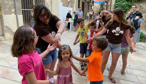 Un any més Guissona celebra la festa del barri de Sant Magí
