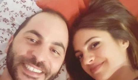 Antonio amb la parella a Instagram.
