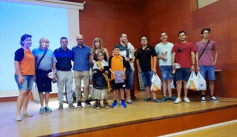 Vicenç Esplugas, vencedor del campionat de ràpides de Balàfia
