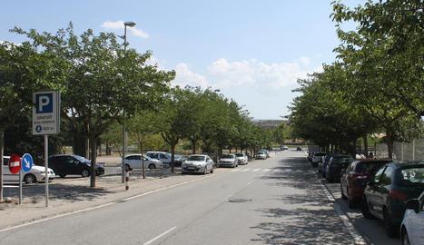 L'avinguda Onze de Setembre de Tàrrega.