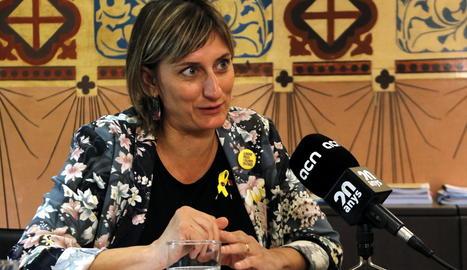 Imatge d'arxiu de la consellera de Salut, Alba Vergés.