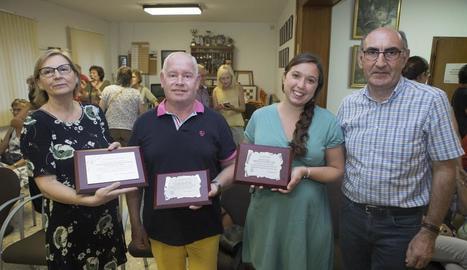 Homenatge a tres entitats de Torà que celebren l'aniversari