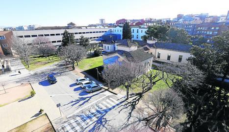Vista de l'Hospital Santa Maria de Lleida