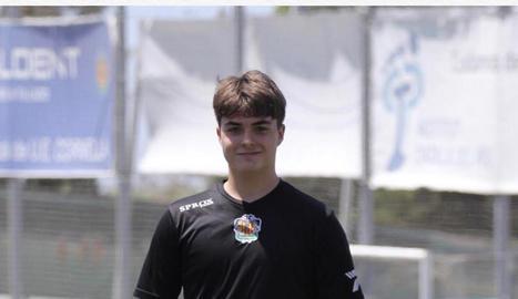 Marc Sanz, porter lleidatà que ha fitxat pel Cornellà.