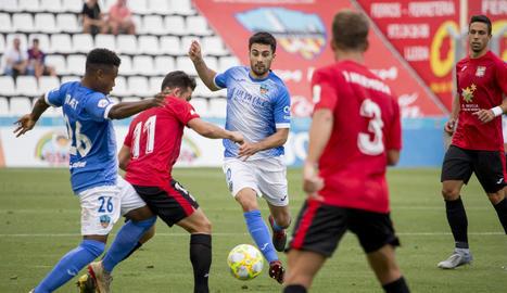 El Lleida decep en el Camp d'Esports