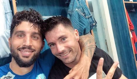 Marc Trilles i Álex Felip van parodiar Piqué i Neymar.