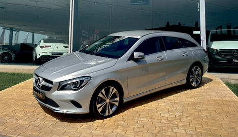 Mercedes CLA 200dd Shooting Brake