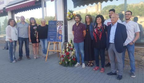 Organitzadors i historiadors van presentar ahir a Balaguer aquesta jornada d'estudis.
