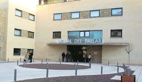 Imatge d'arxiu de l'Hospital Comarcal del Pallars a Tremp.