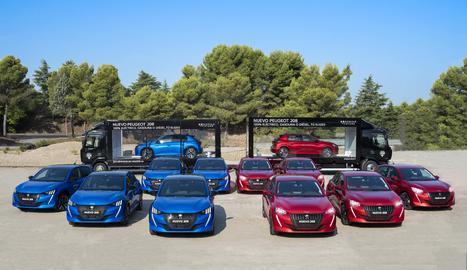 Recorrerà més de cent ciutats i pobles d'Espanya aturant-se en diversos punts de la Xarxa de Concessionaris Peugeot.
