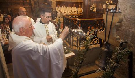 Benedicció de la nova campana de Verdú.