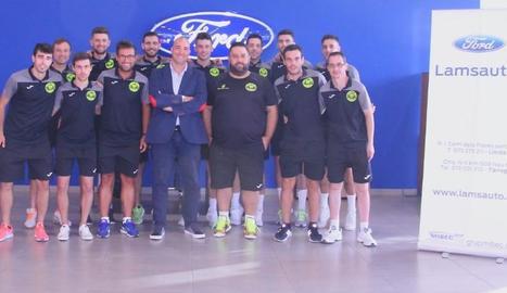 Plantilla per a aquesta temporada del Lamsauto Futsal Lleida.