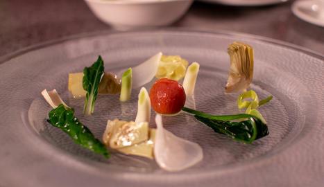 El Gargouillou és un dels plats més emblemàtics del cuiner Michel Bras.