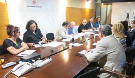 Imatge de la comissió especial sobre l'1-O celebrada ahir.