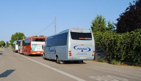 Servei d'autobús a la Serra.