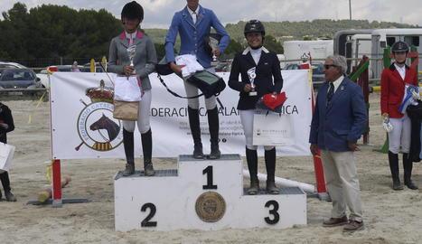 Bons resultats per a Lleida al Català d'Equitació