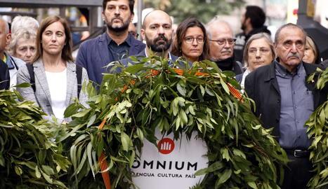 Òmnium alerta l'Estat que sense absolució tindrà