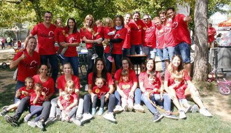 Un dels grups que van participar en aquesta festa gastronòmica que se celebra al parc del Graó.