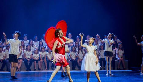 Un moment de la gala teatral de dilluns, emesa dimarts a TV3.
