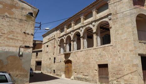Centre urbà de la població de Torrebesses.