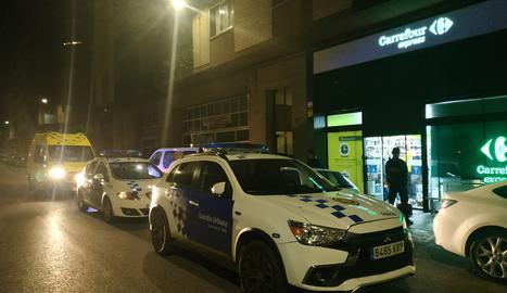 Intent de furt al Carrefour de Cappont