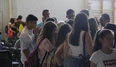 La mort de la nena ha provocat una gran commoció entre els companys de l'institut.
