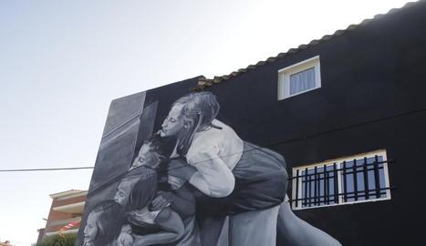 L'obra 'Graffaune Wolf', segon premi, està situada al carrer Segrià del municipi.