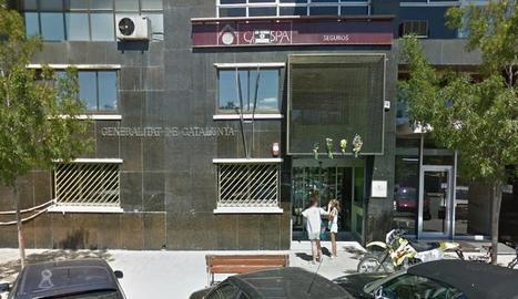Vista de la seu d'Assumptes Socials i Famílies a Lleida.