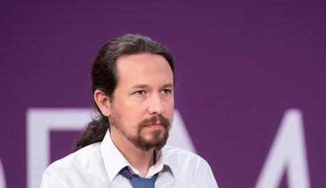 El líder d'Unides Podem, Pablo Iglesias, en una foto d'arxiu.