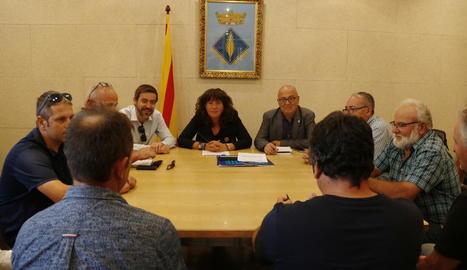 Jordà es va reunir ahir amb els afectats a Palma d'Ebre.
