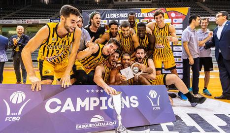 El CB Pardinyes, campió de la Lliga Catalana LEB