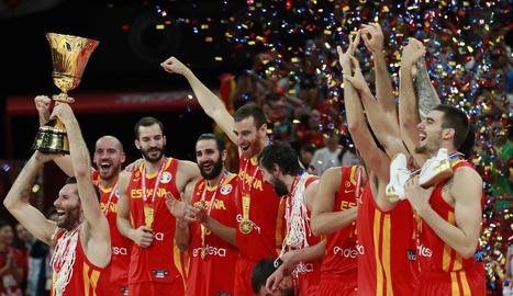 Espanya guanya el seu segon Mundial de bàsquet